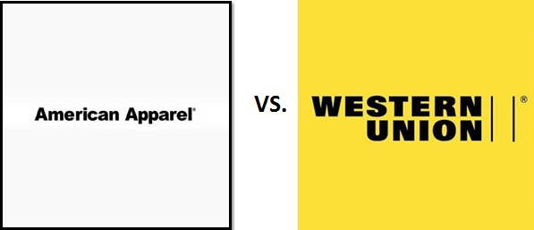 Western Union vs. American Apparel